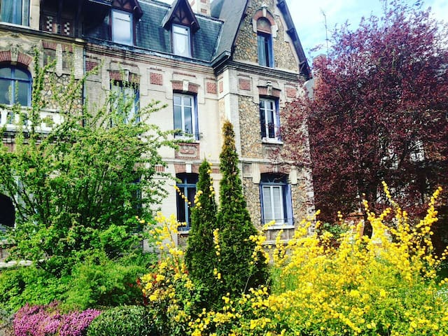 Charming duplex I 60 m2 I 200m from Train station - Rouen - Daire
