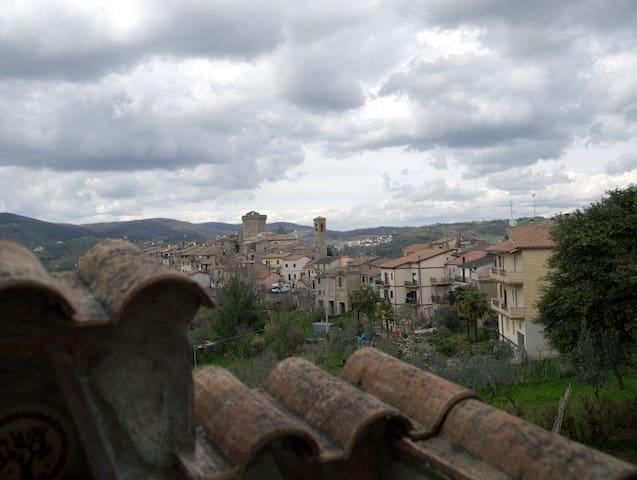 casa in campagna vicino roma e riet - Ginestra Sabina - Daire