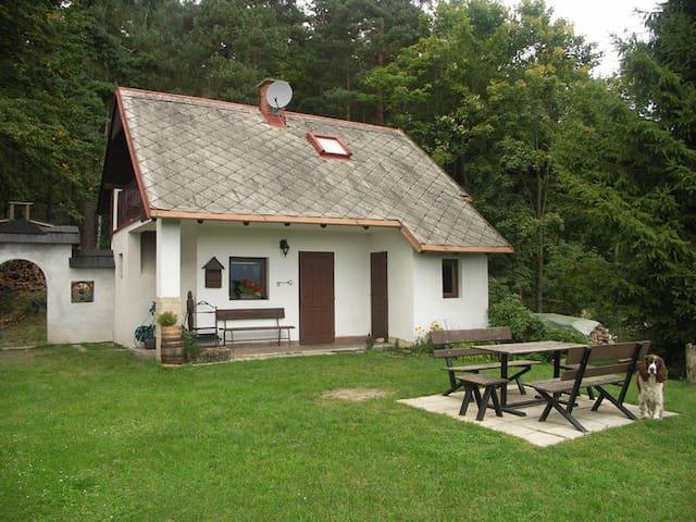 Lovecká chata - Malá Skála - Choza