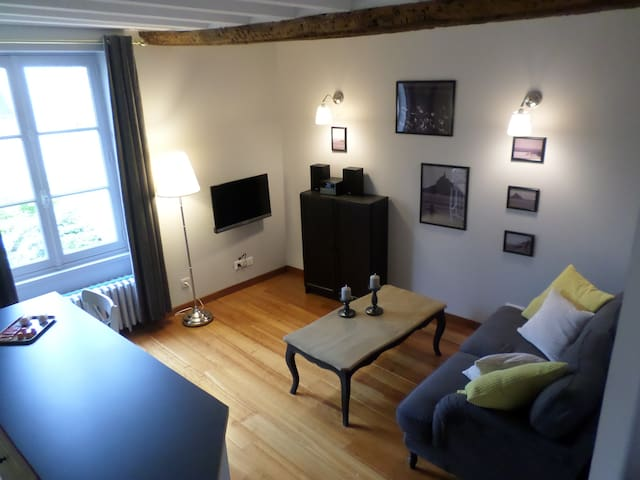 Gite de charme en duplex avec spa - Bayeux - Lägenhet