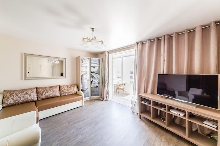 Красивая квартира в центре Спб - 聖彼德堡 - 公寓