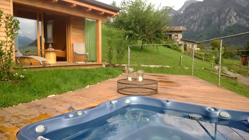 chalet dell agriturismo serec - Angolo Terme - Bed & Breakfast