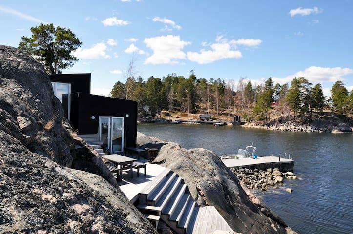 Fabolous Sea Cottage in archipelago - Stockholm - Hytte