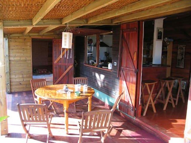 case tropicale - Etang-Salé les Hauts - Dům
