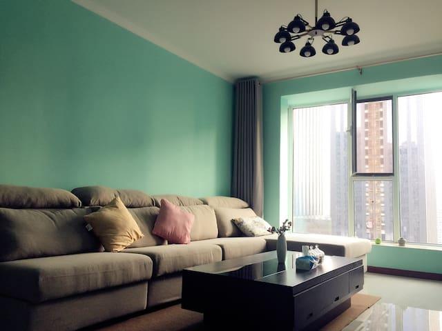 「王府井北美新天地旁」温馨朝阳二居室Near Wang Fujing - 太原市 - Apartmen