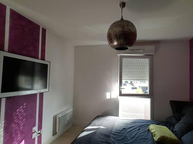 Logement entier 54 m2 + 12 m2 T - Cergy - Wohnung