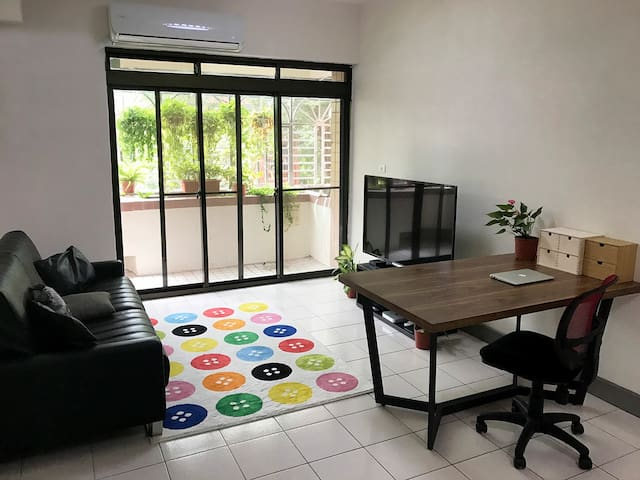 Sunny, Quiet & Clean Bedroom. Wanlong station. - Wenshan District