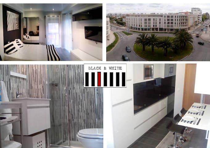 Apartmento T0 - Black & White 1 - Póvoa de Varzim - Departamento