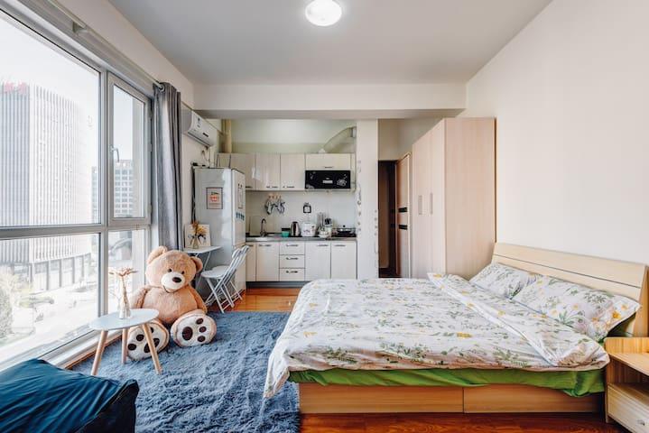 任性二环里 西单王府井 对面即是宣武医院 菜市口地铁现代一居室 - beijing  - Apartamento