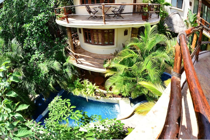 Romantic private jacuzzi best location in playa - Playa del Carmen