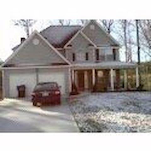 Comfy Blue Home - Douglasville - Haus