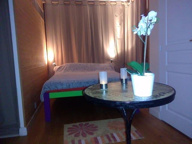 Trés grande chambre cosy et indépendante - Mauguio - Huis