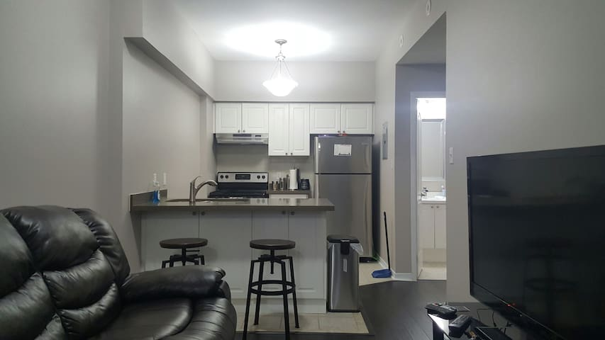Cozy 1 Bedroom Condo, Parking included - Mississauga