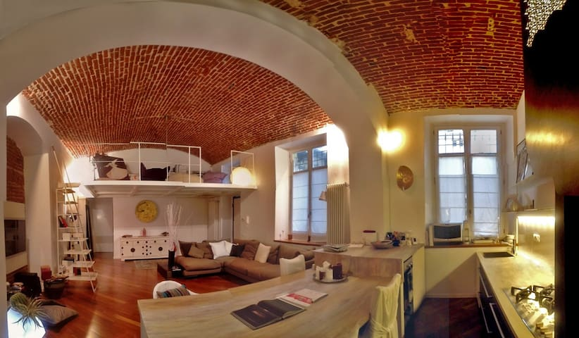 Fantastic loft in Liberty Turin - Turin - Loft