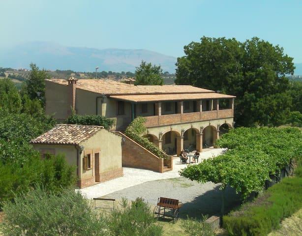 Farmhouse Le Farnie - QUADRUPLA - Altomonte - Bed & Breakfast