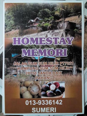Homestay Memori, a place for families and friends - Bentong - Hus