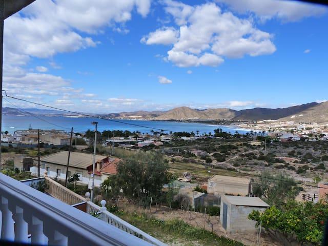 Vue exceptionnelle sur la baie de La Azohia - Cartagena - Casa