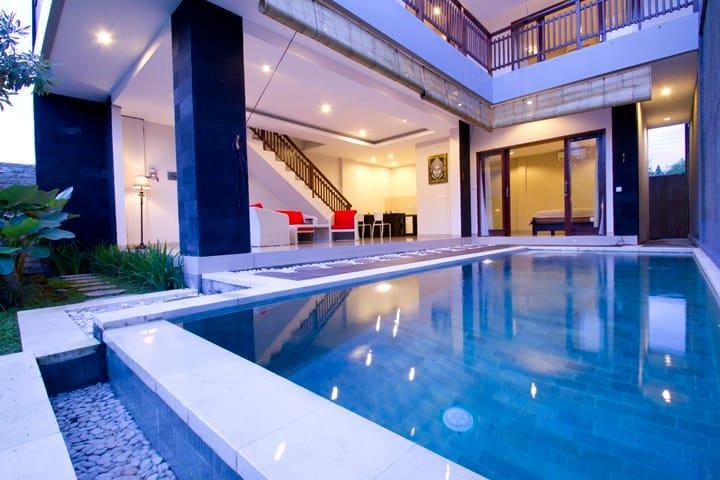 3 BR villa 500m from Echo Beach - Noord Kuta - Villa