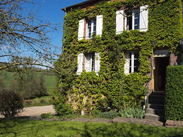 charmant boerenhuis in Normandië voor 9 personen - Crouttes - Huis
