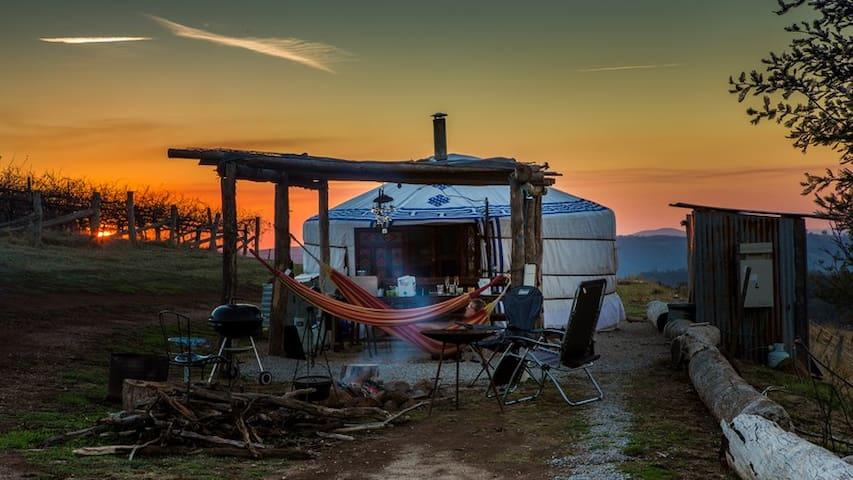 The Yurt Alpine Retreat King Valley - Myrrhee - 蒙古包