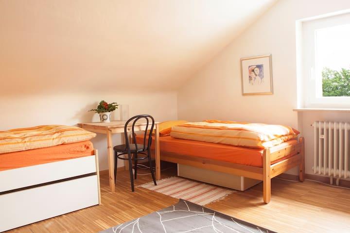 Zimmer in Zähringen am Waldrand - Freiburg - Hus