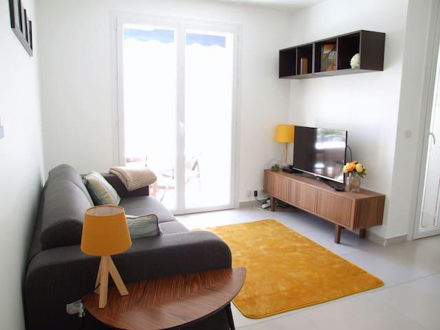 2 room Apt at Palm Beach at Petit Magellan Cannes - Канны - Квартира