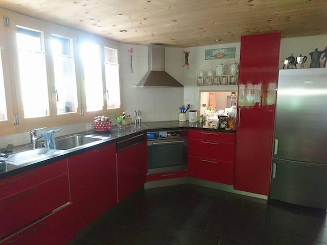 Andi's Room, 1 Bed, Berner Oberland - Frutigen - Hus