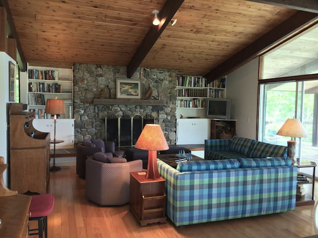 Coastal Maine Modern Deck House - Surry - Huis