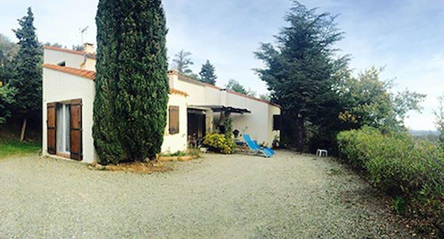 GITE BELLE VUE - Montesquieu-des-Albères - Natuur/eco-lodge