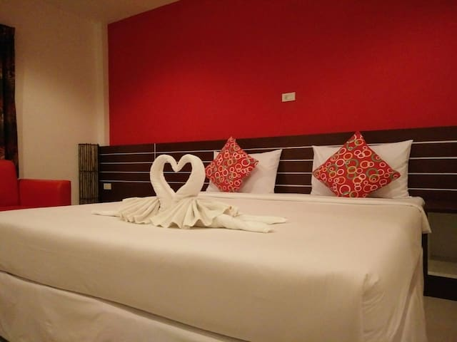 Chaba lovely room A1 - Krabi Town - Haus