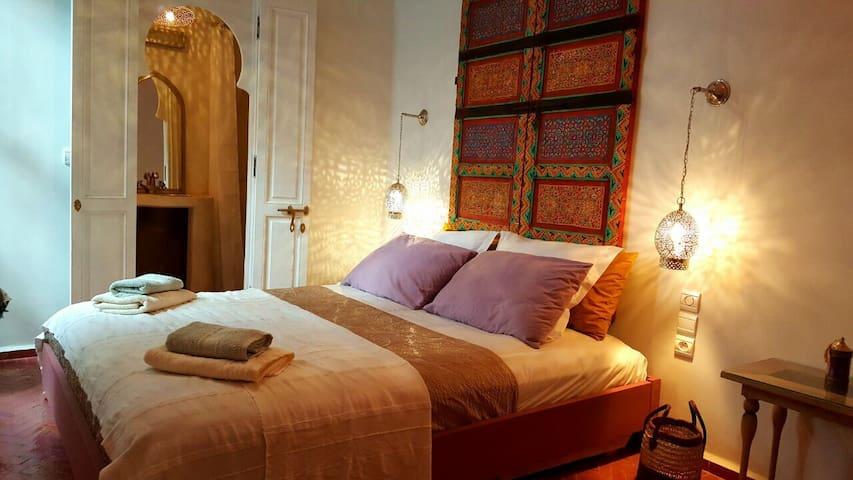 Jemaa el-Fna Riad Laly chambre sdb wc Tifawt - Marrakech