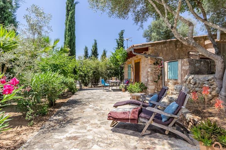 Liebevoll renovierte Natursteinfinca Casa Groc - Costitx - Huis