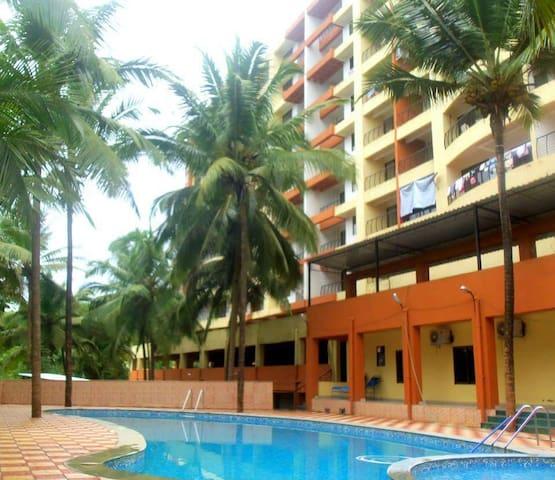 Calm & Serene - North Goa - Apartamento