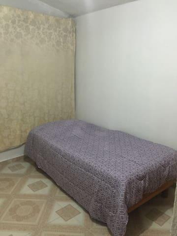 Habitación en Fracc. Santa Elena - San Mateo Atenco - Huis