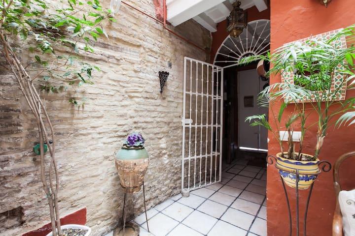 habitación 2 en casa con encanto - Seville