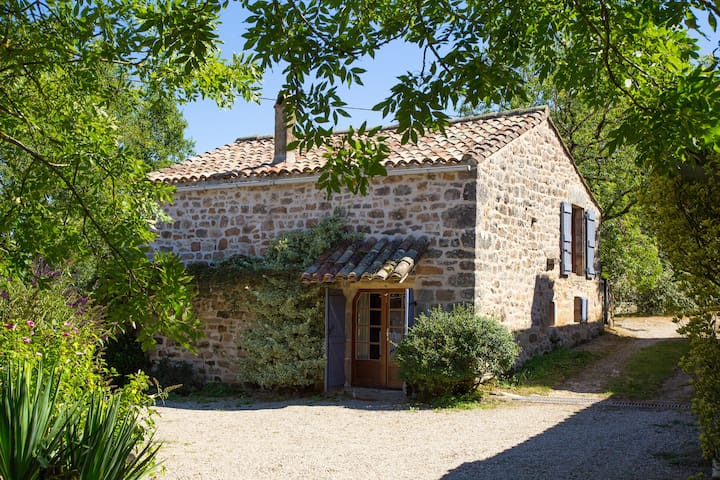 Fontblanque-two cottages with pool! - Penne - Casa