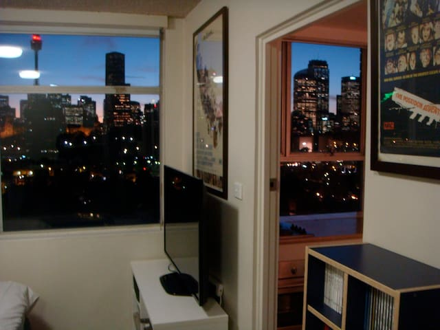 Superb studio with stunning views - Potts Point - Appartement