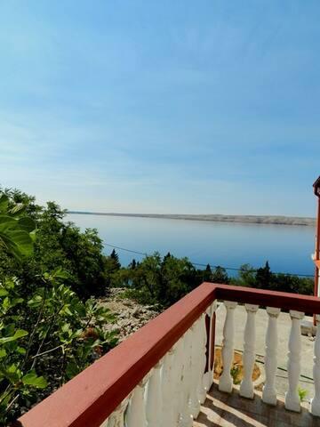 "Family-seaside studio-apartment ""Sidro 1"" - Barić Draga - Leilighet"