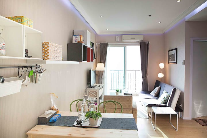 Best location Downtown Flat, unlimited wifi. - Jacarta Central