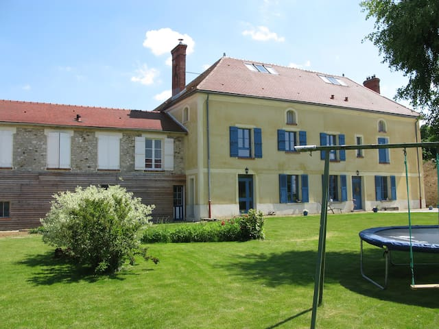 Nice Bedroom near Chateau Thierry - Torcy-en-Valois - Huis