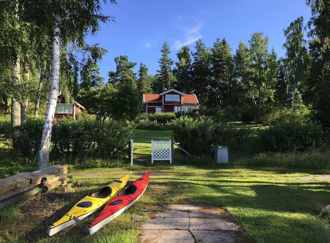 Stockholm Archipelago - Norrtälje - Houten huisje