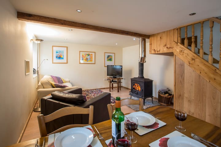 Lovely Barn with hot tub and sauna - Long Sutton - Casa