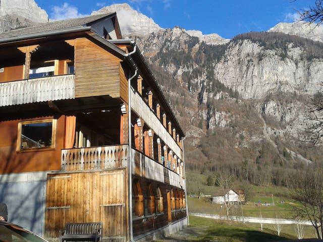 gemütliches Zimmer am Berg - Walenstadt - Casa
