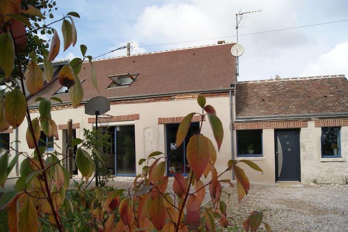 longère plein sud - renovated farm - Mareau-aux-Prés - Hus