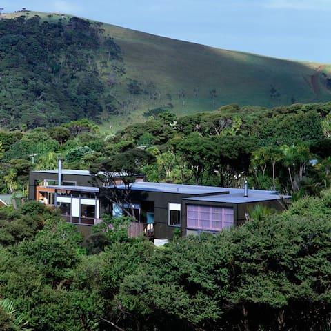 Beach house with Ocean views. - Bethells Beach