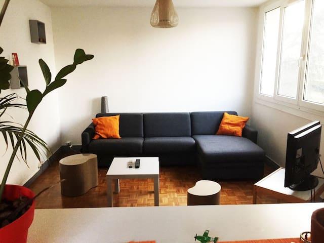Studio Cosy - Calme - Lumineux - Porte de Paris - Maisons-Alfort - Appartement
