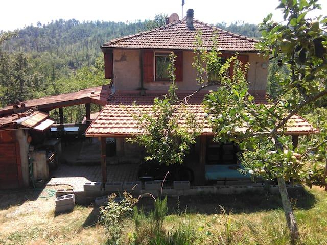 Casa nel verde vicino a 5 terre - Beverino - Hus