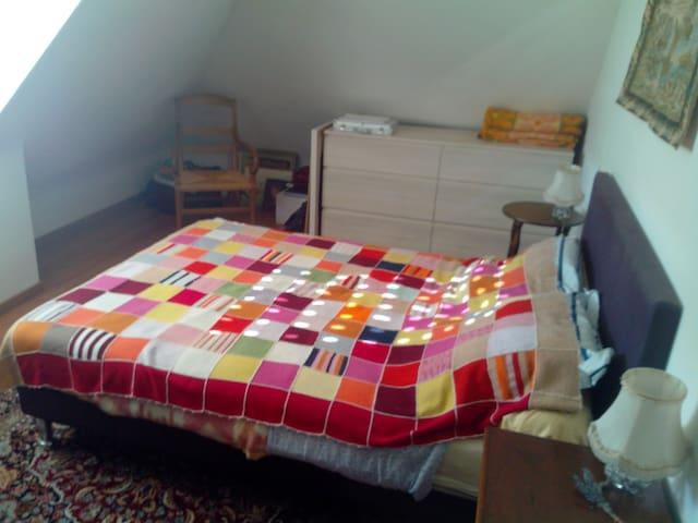 Chambre privée pour 2  dans maison au calme - Hennebont - Huis
