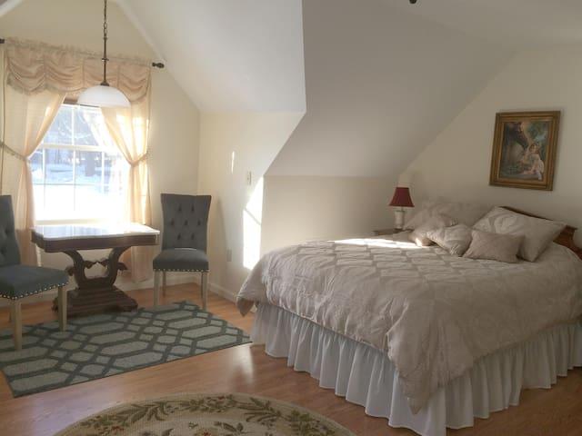 Loon Meadow Farm Room 1 - Greenfield Center - Oda + Kahvaltı