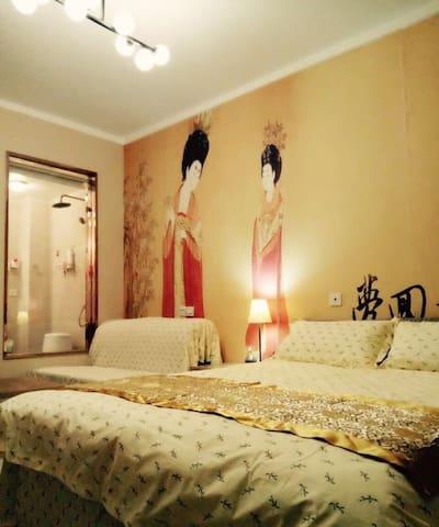 钟楼旁的精美公寓7,旅游度假首选,有阳光,007 - Xi'an - Leilighet